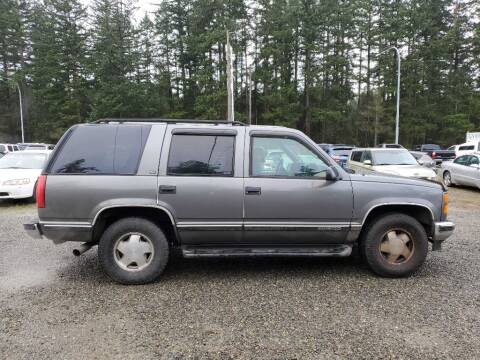 1999 GMC Yukon for sale at WILSON MOTORS in Spanaway WA