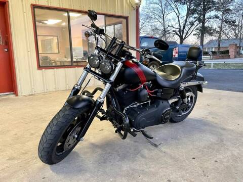 2015 HARLEY DYNA FAT BOB for sale at Sandlot Autos in Tyler TX