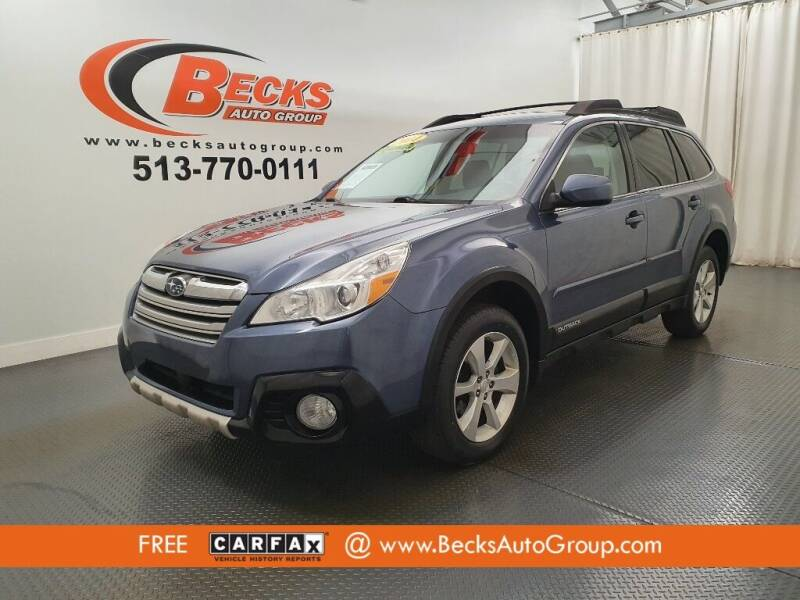 2014 Subaru Outback for sale at Becks Auto Group in Mason OH