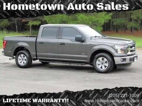 2017 Ford F-150 for sale at Hometown Auto Sales - Trucks in Jasper AL