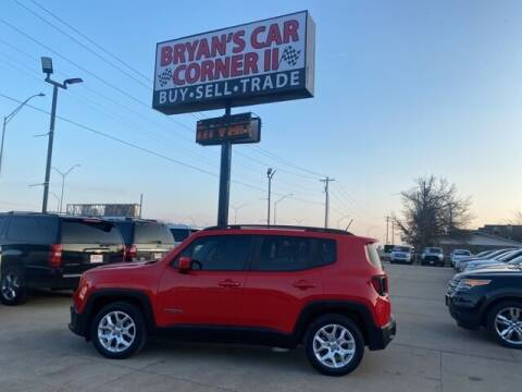 2017 Jeep Renegade for sale at Bryans Car Corner in Chickasha OK