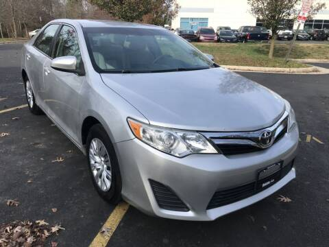 2013 Toyota Camry for sale at Dotcom Auto in Chantilly VA