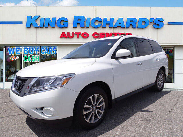 2014 Nissan Pathfinder for sale at KING RICHARDS AUTO CENTER in East Providence RI