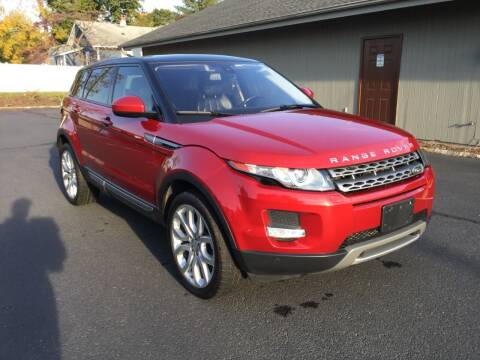 2015 Land Rover Range Rover Evoque for sale at International Motor Group LLC in Hasbrouck Heights NJ