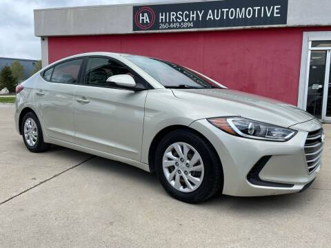 2017 Hyundai Elantra for sale at Hirschy Automotive in Fort Wayne IN