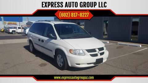 2003 Dodge Grand Caravan for sale at EXPRESS AUTO GROUP in Phoenix AZ
