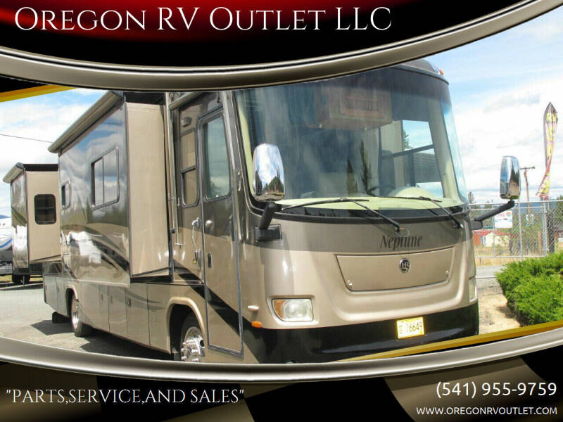 2007 Holiday Rambler NEPTUNE 36PDQ QUAD SLIDE for sale at Oregon RV Outlet LLC - Diesel Motorhomes in Grants Pass OR