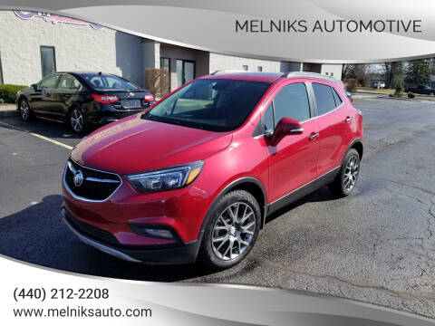 2019 Buick Encore for sale at Melniks Automotive in Berea OH