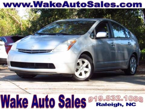 2007 Toyota Prius for sale at Wake Auto Sales Inc in Raleigh NC