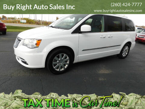 2015 Chrysler Town and Country for sale at Buy Right Auto Sales Inc in Fort Wayne IN