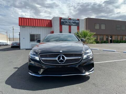2015 Mercedes-Benz CLS for sale at Auto Center Of Las Vegas in Las Vegas NV