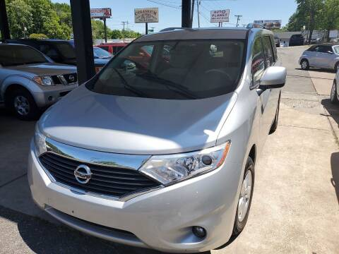 2016 Nissan Quest for sale at Coliseum Auto Sales & SVC in Charlotte NC
