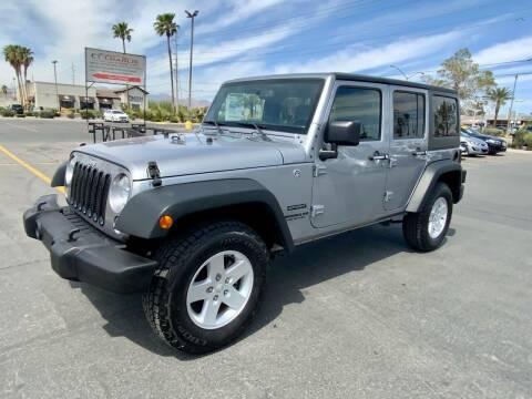 2017 Jeep Wrangler Unlimited for sale at Charlie Cheap Car in Las Vegas NV
