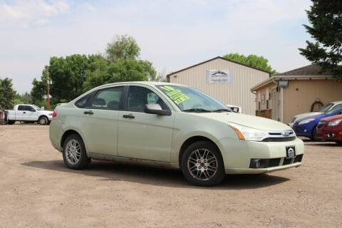 2010 Ford Focus for sale at Northern Colorado auto sales Inc in Fort Collins CO