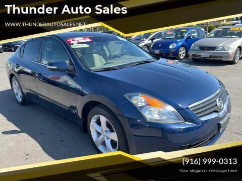 2007 Nissan Altima for sale at Thunder Auto Sales in Sacramento CA