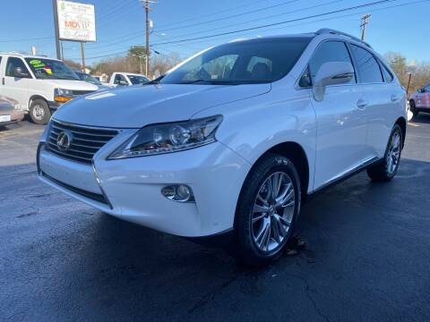 2013 Lexus RX 350 for sale at Viewmont Auto Sales in Hickory NC