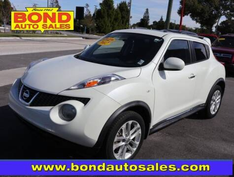 2012 Nissan JUKE for sale at Bond Auto Sales in St Petersburg FL