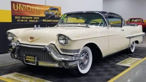 1957 Cadillac Series 62 for sale at UNIQUE SPECIALTY & CLASSICS in Mankato MN