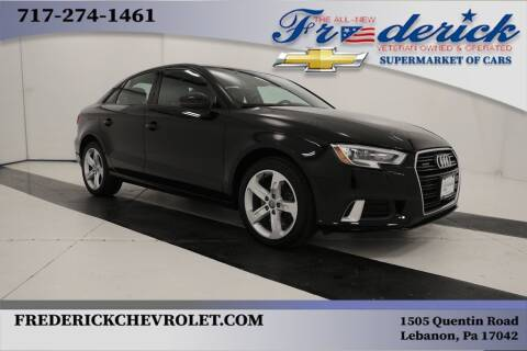 2018 Audi A3 for sale at Lancaster Pre-Owned in Lancaster PA