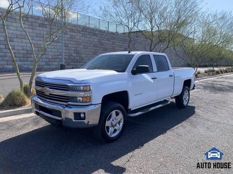 2015 Chevrolet Silverado 2500HD for sale at AUTO HOUSE TEMPE in Tempe AZ