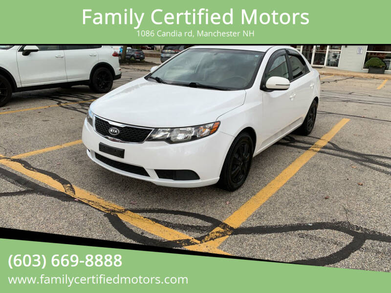 2013 Kia Forte for sale at Family Certified Motors in Manchester NH