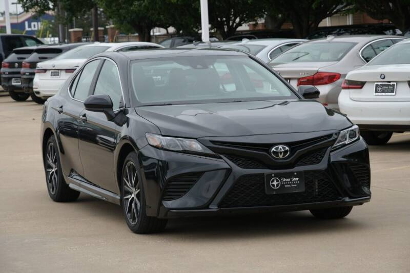 2021 Toyota Camry for sale at Silver Star Motorcars in Dallas TX