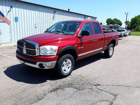 2008 Dodge Ram Pickup 1500 for sale at Dakota Cars and Credit LLC in Sioux Falls SD