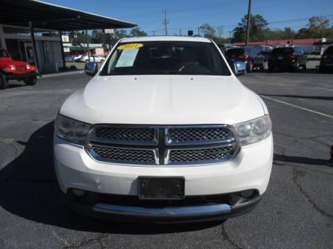 2011 Dodge Durango for sale at Maluda Auto Sales in Valdosta GA