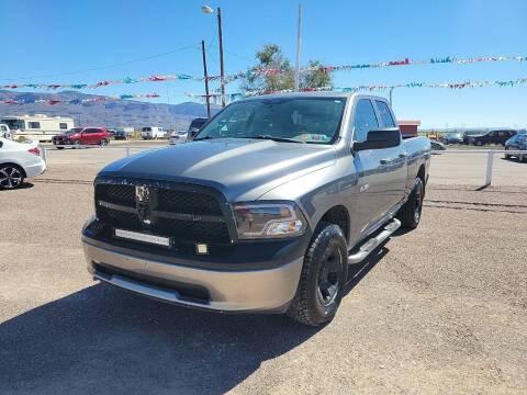 2009 Dodge Ram Pickup 1500 for sale at Bickham Used Cars in Alamogordo NM