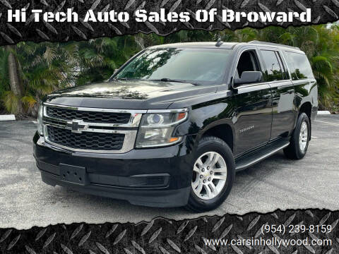 2015 Chevrolet Suburban for sale at Hi Tech Auto Sales Of Broward in Hollywood FL