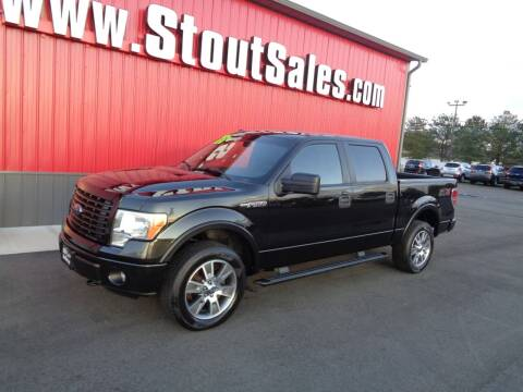 2014 Ford F-150 for sale at Stout Sales in Fairborn OH