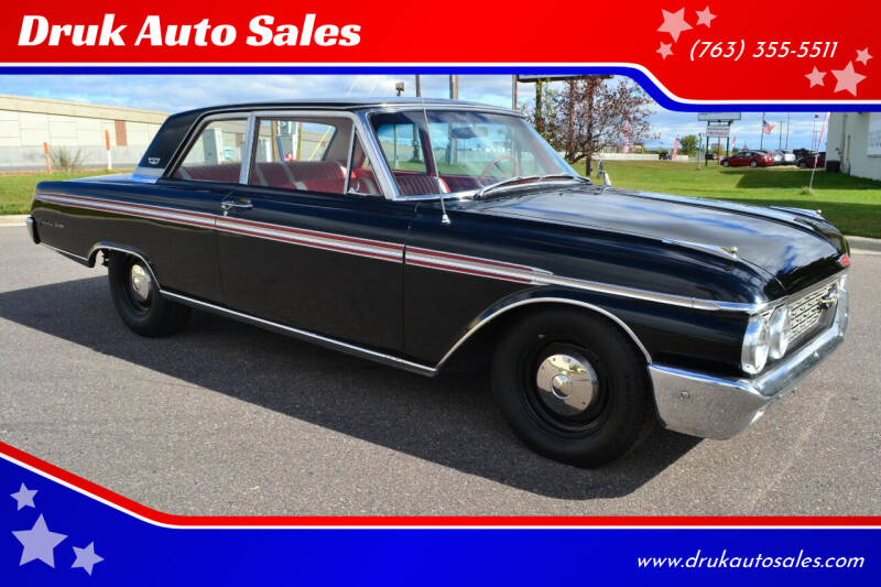 1962 Ford Galaxie 500 for sale at Druk Auto Sales in Ramsey MN