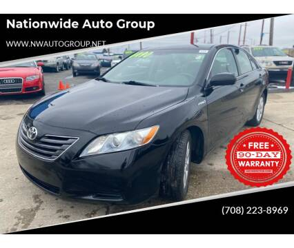 2008 Toyota Camry Hybrid for sale at Nationwide Auto Group in Melrose Park IL