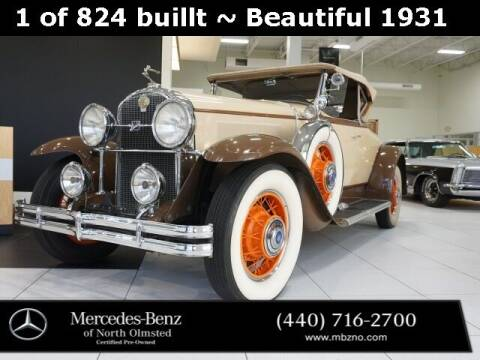 1931 Buick n/a for sale at Mercedes-Benz of North Olmsted in North Olmstead OH