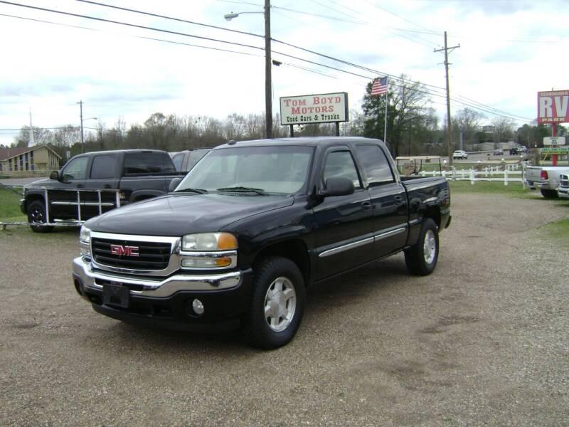 2005 GMC Sierra 1500 for sale at Tom Boyd Motors in Texarkana TX