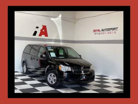 2013 Dodge Grand Caravan for sale at Royal AutoSport in Sacramento CA