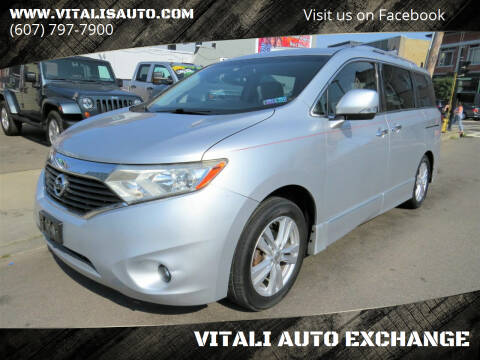 2011 Nissan Quest for sale at VITALI AUTO EXCHANGE in Johnson City NY