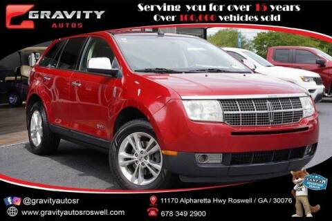 2010 Lincoln MKX for sale at Gravity Autos Roswell in Roswell GA