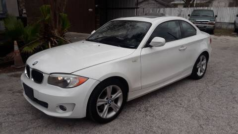 2013 BMW 1 Series for sale at RICKY'S AUTOPLEX in San Antonio TX