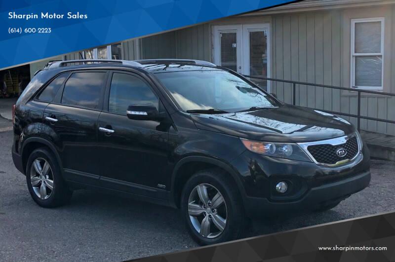 2013 Kia Sorento for sale at Sharpin Motor Sales in Columbus OH