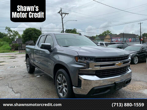 2019 Chevrolet Silverado 1500 for sale at Shawn's Motor Credit in Houston TX