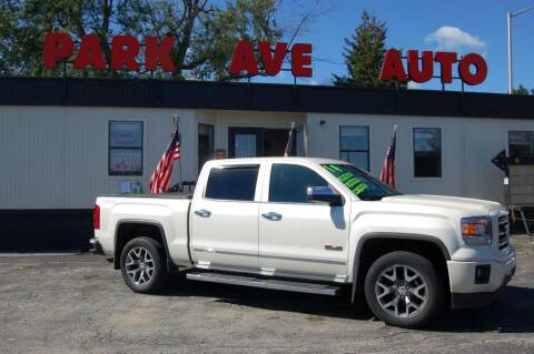 2014 GMC Sierra 1500 for sale at Park Ave Auto Inc. in Worcester MA