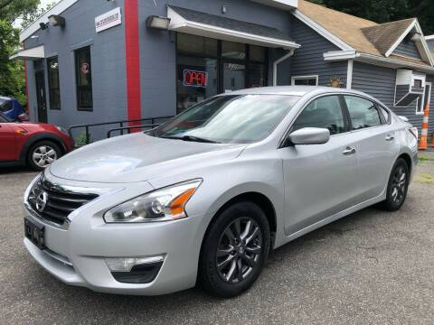 2015 Nissan Altima for sale at Auto Kraft in Agawam MA