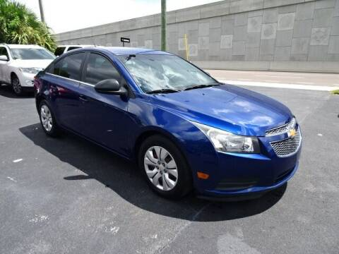2012 Chevrolet Cruze for sale at DONNY MILLS AUTO SALES in Largo FL