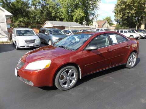 2008 Pontiac G6 for sale at Goodman Auto Sales in Lima OH