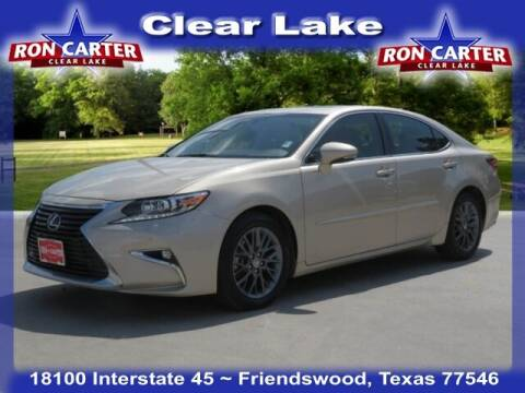 2018 Lexus ES 350 for sale at Ron Carter  Clear Lake Used Cars in Houston TX