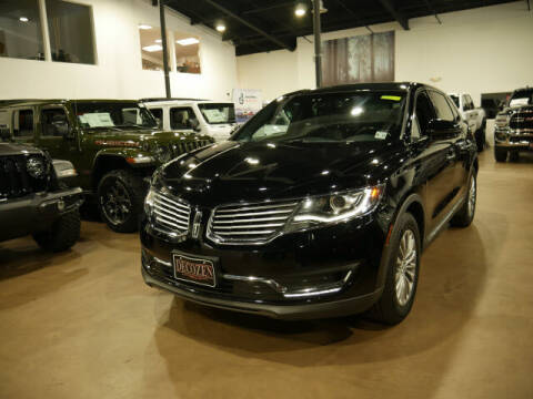 2016 Lincoln MKX for sale at Montclair Motor Car in Montclair NJ