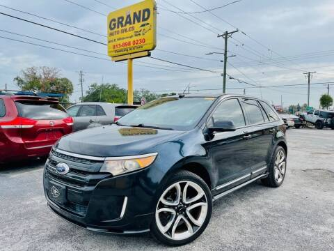 2013 Ford Edge for sale at Grand Auto Sales in Tampa FL