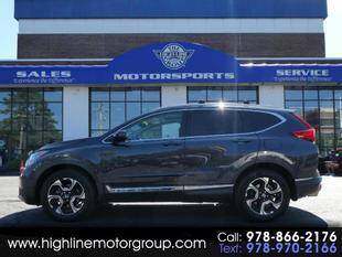 2017 Honda CR-V for sale at Highline Group Motorsports in Lowell MA