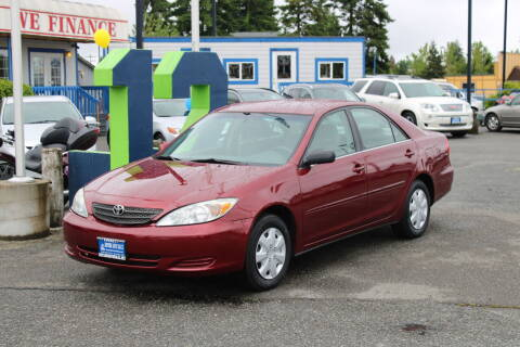 2004 Toyota Camry for sale at BAYSIDE AUTO SALES in Everett WA